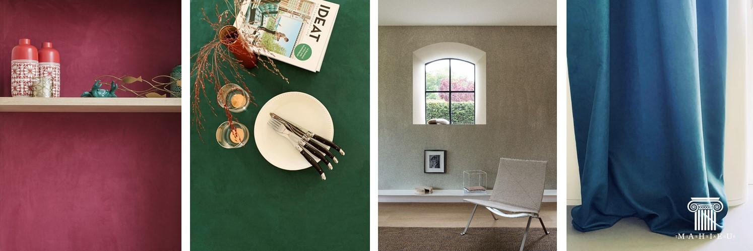 Роскошь и высокий стиль – настенные покрытия 4Seasons от Tissage Mahieu
