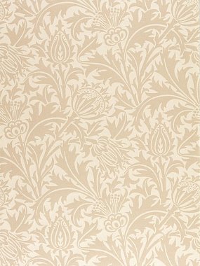 Обои Morris Pure North Pure Thistle Linen 216552 (0,686*10,05)