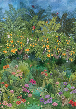 Панно Matthew Williamson Daydreams Orange Grove W7493-01 (2.10*3.00)
