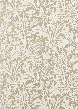 Обои Morris Pure North Pure Thistle Gilver 216548 (0,686*10,05)