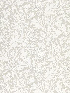 Обои Morris Pure North Pure Thistle Pebble 216551 (0,686*10,05)
